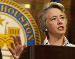 Mayor Annise Parker, Lesbian Democrat and ham-fisted intimidator